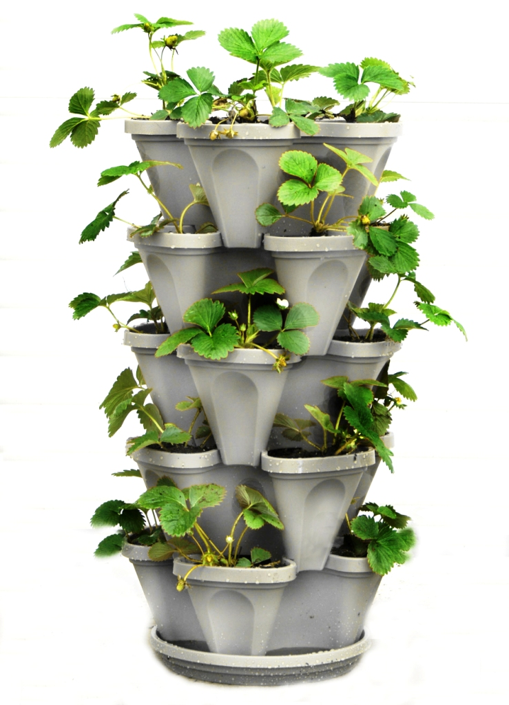 "13"" Mr. Stacky Planter 5 Tier"