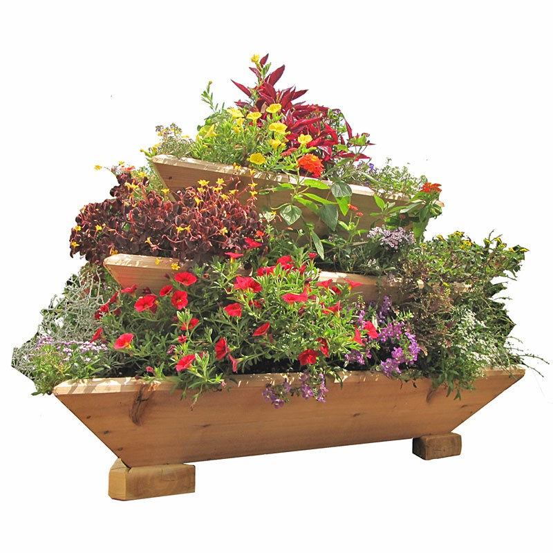 Triolife 3 Tier Vertical Planter