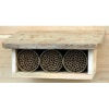 Cedar Shelter Kit with 3 Mason Bee Houses